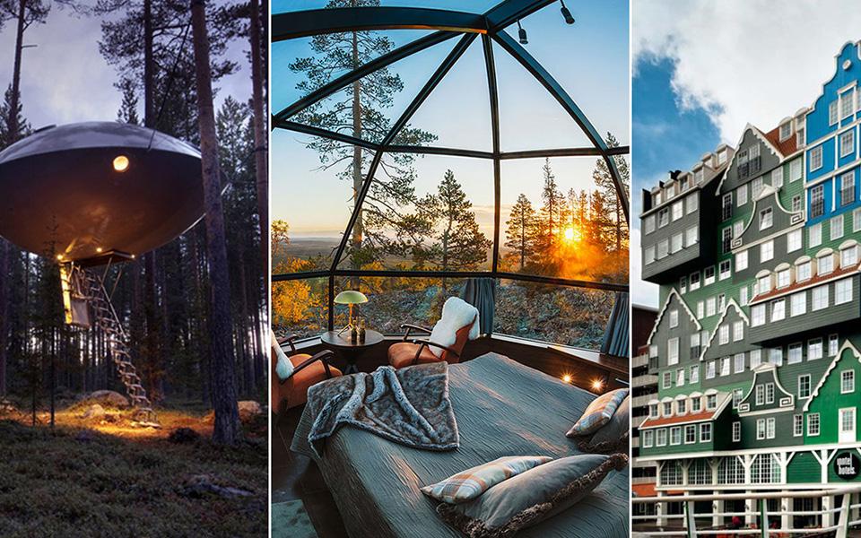 Unika platser att bo på i Sverige